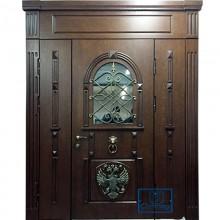 Парадная дверь со стеклопакетом P-94