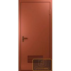 Металлические двери в котельную МД-ВК-06