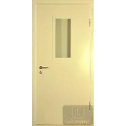 Двери противопожарные остекленные ДМП-12
