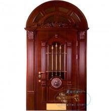 Арочная дверь в дом A-16