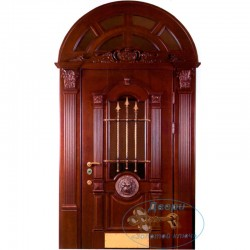 Арочная дверь №16