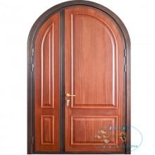 Изготовление арочных полуторных дверей A-17