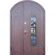 Арочные двухстворчатые двери A-8