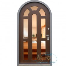Недорогие арочные двери с зеркалом A-9