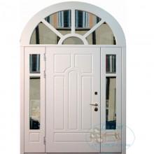 Арочные входные двери для загородного дома A-4