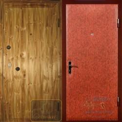 Стальные двери с вагонкой ВД-ВГ-В 01