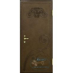 Дверь с ковкой МД-СК-Л-02
