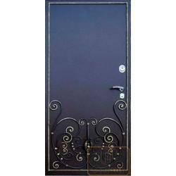 Дверь с ковкой МД-СК-Л-16