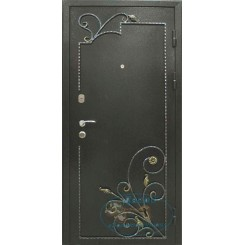 Дверь с ковкой МД-СК-Л-09