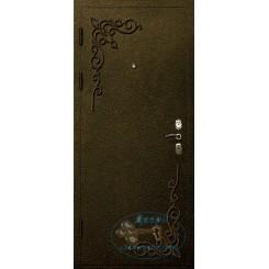 Дверь с ковкой МД-СК-Л-12