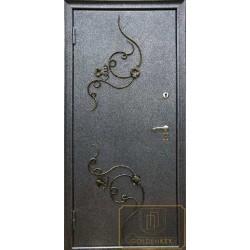 Дверь с ковкой МД-СК-Л-21