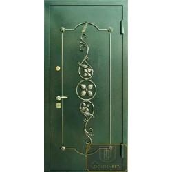 Дверь с ковкой МД-СК-Л-31