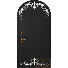 Дверь с ковкой МД-СК-Л-34
