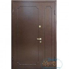 Техническая дверь Тех-15 Порошковое напыление с рисунком с доставкой и установкой в Москве от производителя
