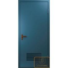 Техническая дверь Тех-07 Нитроэмаль с вентиляционной решеткой с доставкой