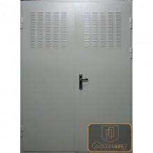 Техническая дверь Тех-04 Перхлорвиниливая краска с вентиляционн