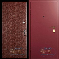 Двери с отделкой винилискожа ВД-В-12