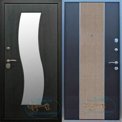 Двери железные входные зеркалом ВД-МЗ-ДМ 17