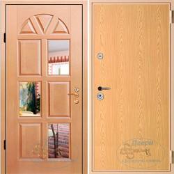 Железные двери с зеркалом внутри ВД-МЗ-ЛА 07