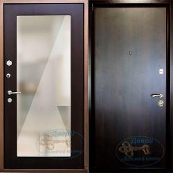 Железная дверь с зеркалом в полный рост ВД-МЗ-Л 06