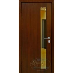 Металлическая дверь венге зеркалом ВД-МЗ-Н 05