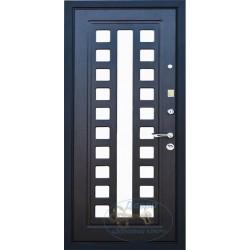 Железная дверь с зеркалом ВД-МЗ-МФ 14