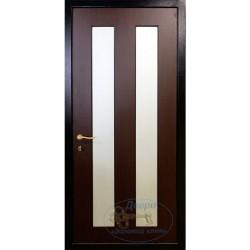 Стальные двери с зеркалом ВД-МЗ-МШ 11