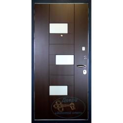 Дверь входная металлическая с зеркалом ВД-МЗ-Д 16