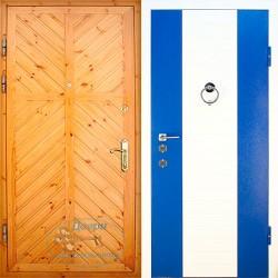 Дверь с евровагонкой ВД-ВГ-МД 14
