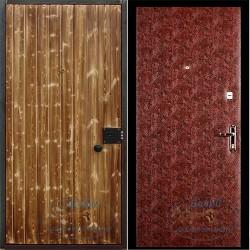 Входная дверь с вагонкой ВД-ВГ-В 03