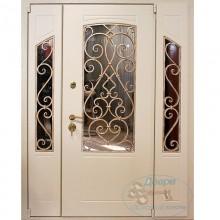 Парадные двери со стеклом
