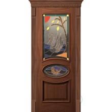 Парадная дверь со стеклопакетом Р-69