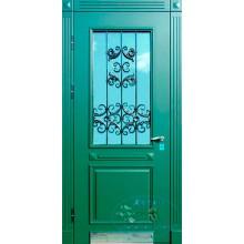 Парадная дверь со стеклопакетом Р-66