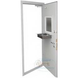Дверь металлическая в кассу с нитроэмалью ДК-НС-Н 01