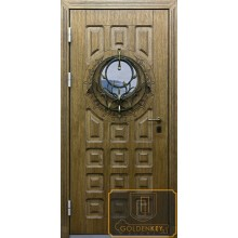 Металлические двери со стеклопакетом ВД-СС-56