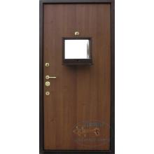 Двери в кассу  ДК-ЛМС-ЛМ 09 Ламинат со стеклопакетом