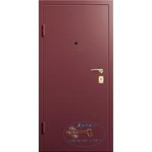 Дверь с шумоизоляцией ШД-П-МФ 51 Порошковое напыление-МДФ филенчатый с доставкой и установкой в Москве от производителя