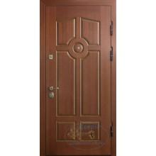 Входные двери из массива дуба