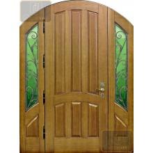 Дверь арочная массив МАС-03