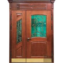 Парадные двери из массива