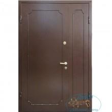 Двустворчатые двери ДД-П-В 27 Порошковое напыление — Вагонка