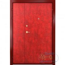 Тамбурная дверь ТД-В-ВР 02 Винилискожа-Винилискожа с рисунком с доставкой и установкой в Москве от производителя