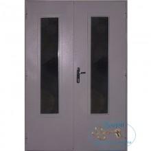 Двустворчатые двери ДД-ПХВ-ПХВ 10