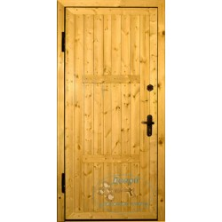 Двери для дачи ДД-ВАГ-М 83