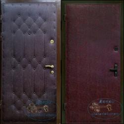 Двери для дачи  ДД-ВР-В 07