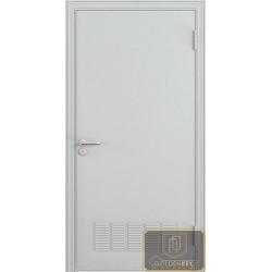 Противопожарная металлическая дверь в коттедж ДМП-3