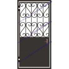 Изготовление решетчатых дверей