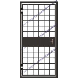 Решетчатые двери на лестничную клетку РД-04