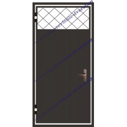 Частичные решетчатые тамбурные двери РД-19