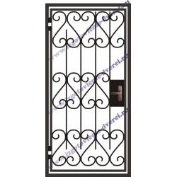 Решетчатые двери на лестничную площадку РД-07